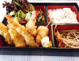 Mix Fry - Bentō:  Lunch time special (5.
