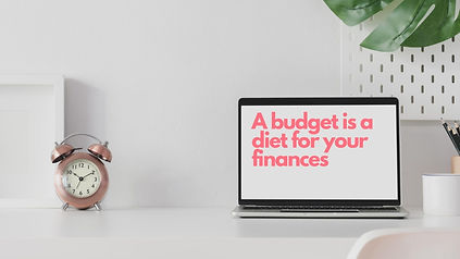 Budget = & tastyPeople don't set out to