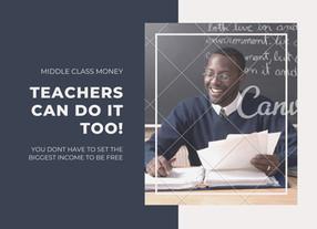 Is One Teachers Salary Enough?