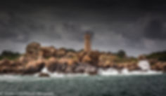phare de ploumanac'h cote de granit rose Bretagne