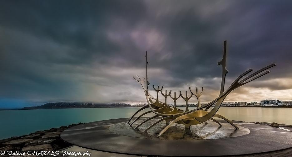 reykjavik islande solfarid sun voyageur Iceland