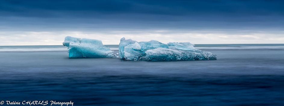 iceberg sur la mer jokulsarlon, islabde , Ice , blue ice, iceland