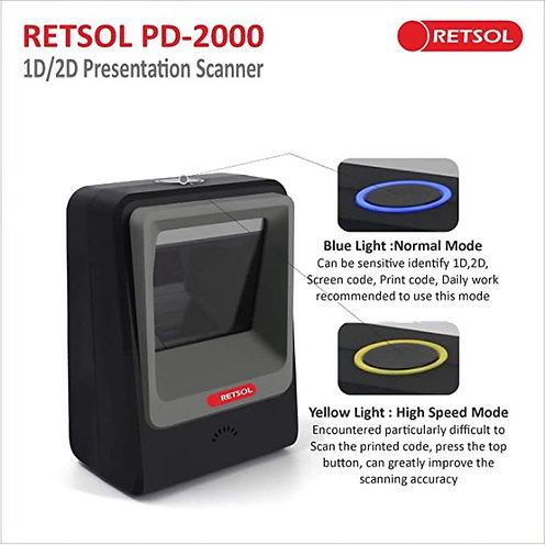 RETSOL PD-2000 1D/2D Presentation