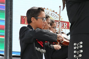 Mariachi Students performing in National City Mariachi Festival