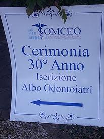 Cerimonia 30° Anno