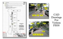 CAD Drawings For Verizon