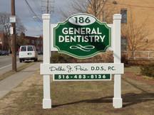 General Dentist Raised Letters