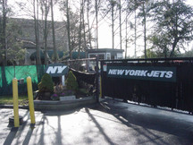 Jets Entrance to old Training Camp