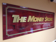 The Money Store Raised Letters