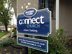 Connect Church Post & Panel