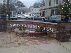 Swim Clean PVC Letters