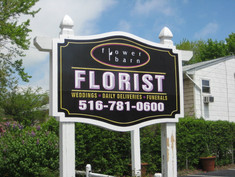 Florist Digital Post and Panel