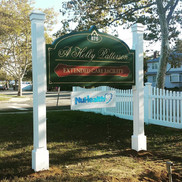 Holly Patterson Carved Sign