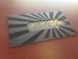 Signitfic Sign Logo