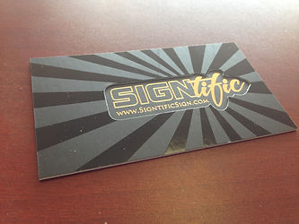 Signtific Business Card