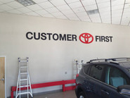Toyota Raised Letters & Logo