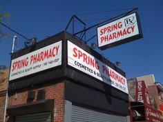 Spring Pharmacy Lightface and Aluminum