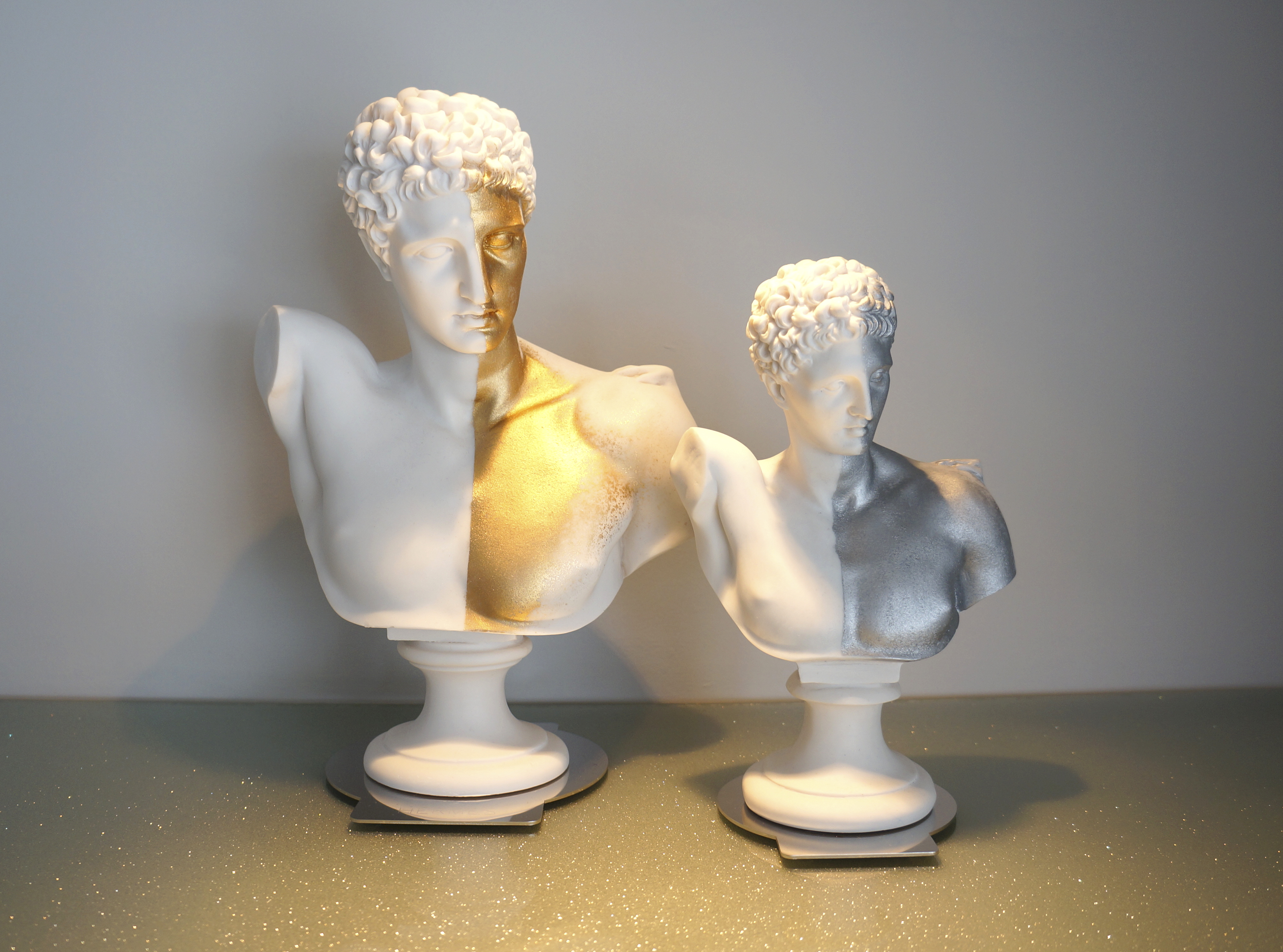 Ερμής χρυσό-ασημί