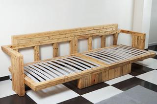 Καναπές από παλιά ξύλα