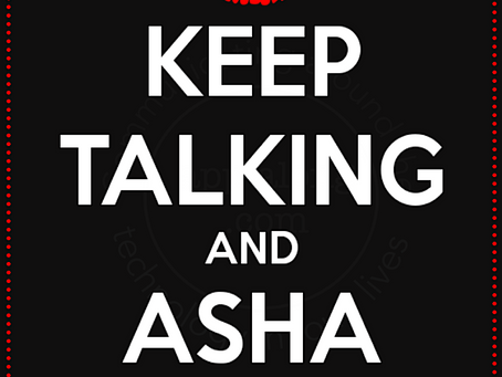 Get Your ASHA On