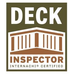 internachi certified deck inspector free