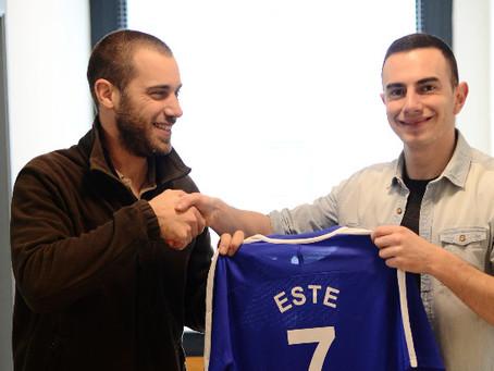 Février 2017 : Changement de locaux et arrivée d'Esteban dans l'équipe