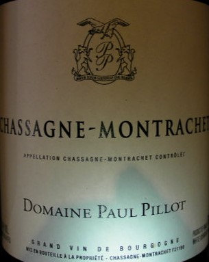Chassagne-Montrachet 2016 Paul PILLOT Blanc
