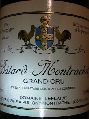Bâtard-Montrachet Grand Cru 2002 LEFLAIVE Blanc