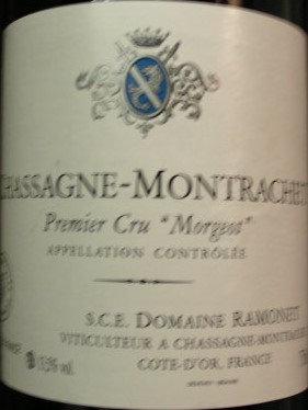 """Chassagne-Montrachet 1er Cru """"Morgeot"""" 2005 RAMONET Blanc"""