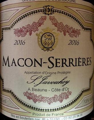 Mâcon-Serrières 2016 S.JAVOUHEY Rouge