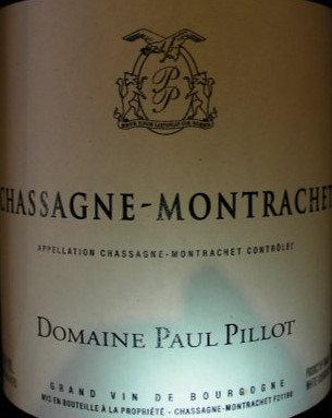 Chassagne-Montrachet 2013 Paul PILLOT Blanc