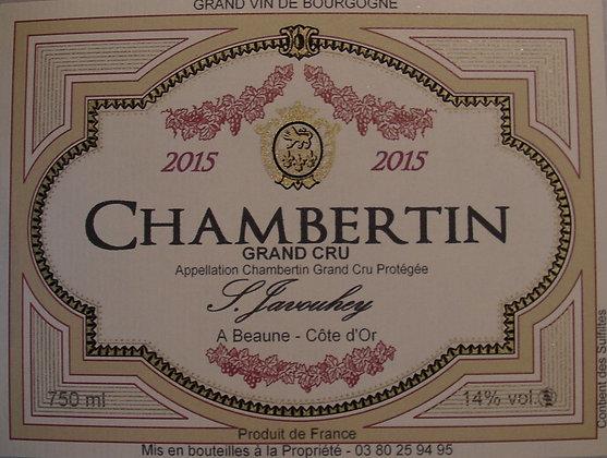 Chambertin Grand Cru 2015 S.JAVOUHEY Rouge
