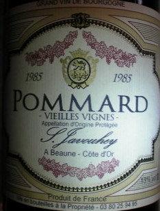 Pommard 1985 S.JAVOUHEY Rouge