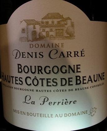 """Hautes-Côtes de Beaune """"La Perrière"""" 2016 CARRE Rouge"""