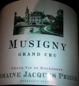 Musigny Grand Cru 2015 J.PRIEUR Rouge