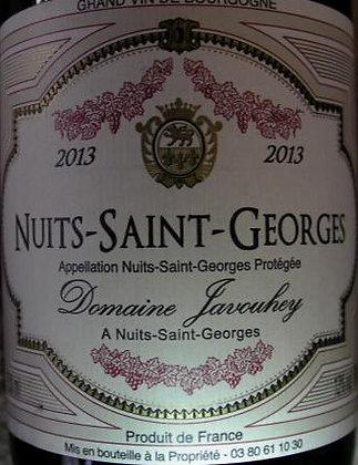 Nuits-Saint-Georges 2013 JAVOUHEY Rouge