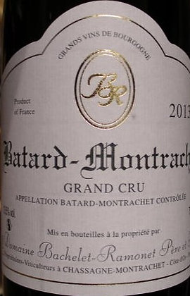Bâtard-Montrachet Grand Cru 2013 BACHELET-RAMONET Blanc