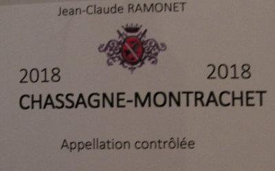 Chassagne-Montrachet 2018 RAMONET Rouge