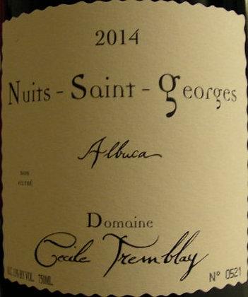 """Nuits-Saint-Georges """"Albuca"""" 2014 Cécile TREMBLAY Rouge"""
