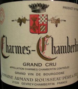 Charmes-Chambertin Grand Cru 2008 A.ROUSSEAU Rouge