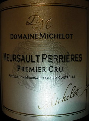 """Meursault 1er Cru """"Les Perrières"""" 2013 MICHELOT Blanc"""