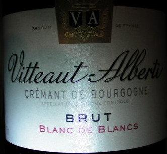 """Crémant de Bourgogne """"Blanc de Blancs"""" VITTEAUT-ALBERTI Blanc"""