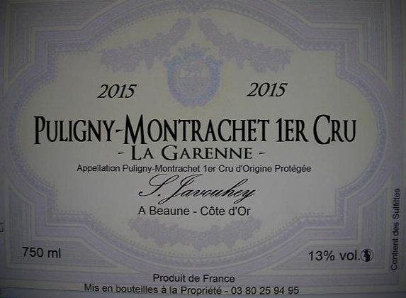 "Puligny-Montrachet 1er Cru ""La Garenne"" 2015 S.JAVOUHEY Blanc"