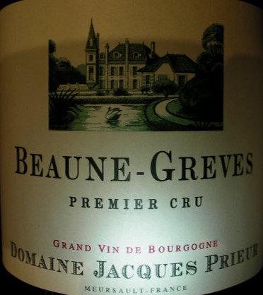 "Beaune 1er Cru ""Grèves"" 2012 J.PRIEUR Blanc"