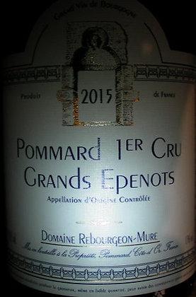 "Pommard 1er Cru ""Grands-Epenots"" 2015 REBOURGEON-MURE Rouge"