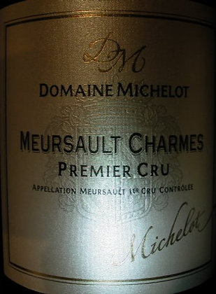 "Meursault 1er Cru ""Charmes"" 2007 MICHELOT Blanc"