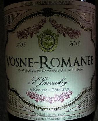 Vosne-Romanée 2015 S.JAVOUHEY Rouge