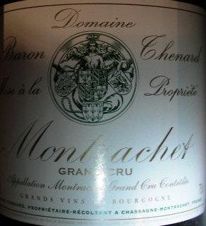 Montrachet Grand Cru 2014 THENARD Blanc