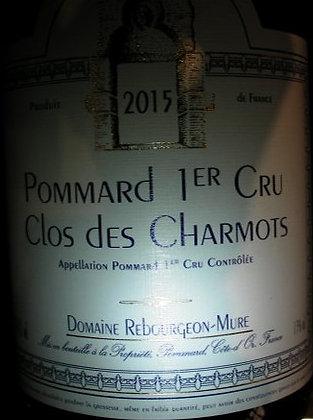 """Pommard 1er Cru """"Clos des Charmots"""" 2015 REBOURGEON-MURE Rouge"""