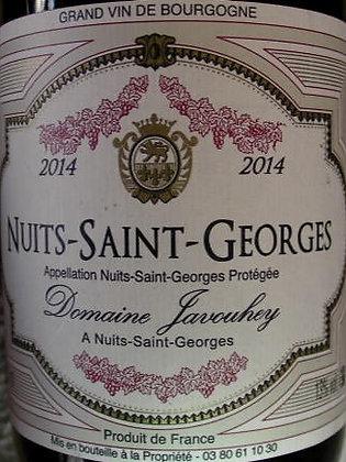 Nuits-Saint-Georges 2014 JAVOUHEY Rouge